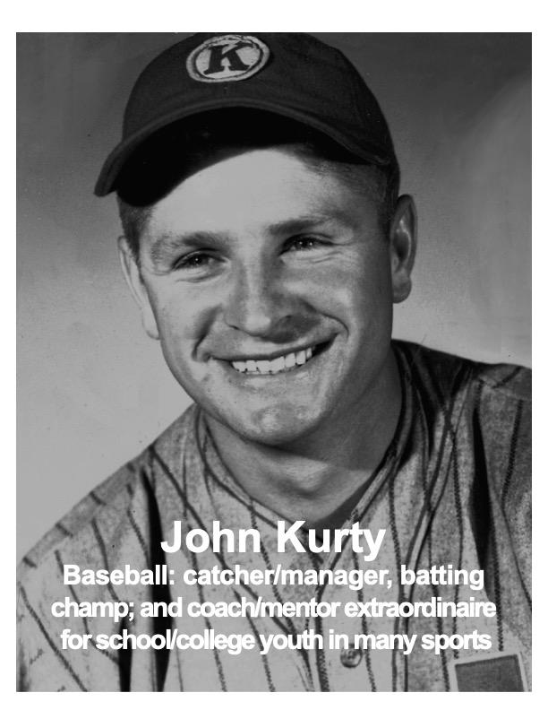 John Kurty, Baseball